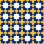 Mittelalterliches Mosaik Nahtloses Vektormuster