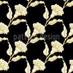 Elegance Of Bloom Seamless Vector Pattern