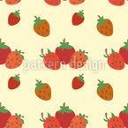 Erdbeerfelder Rapportmuster
