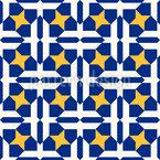 Interlacing Mosaic Pattern Design