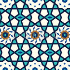 Star Of The Medina Repeat Pattern