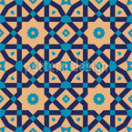 Traditional Riad Seamless Vector Pattern Design