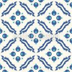 伝統的なトルコタイル シームレスなベクトルパターン設計