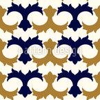 Arabic Floral Repeat Pattern