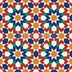 Maurische Kunst Nahtloses Vektormuster