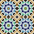 Sevilla Mosaik Nahtloses Vektormuster