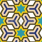 スターズ・イン・ザ・グリッド シームレスなベクトルパターン設計