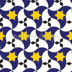 Sternenflaggen Nahtloses Vektormuster