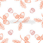 Autumnal Time Pattern Design