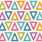Outline Triangle Seamless Vector Pattern Design