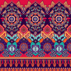 Ethnic Mandala Seamless Vector Pattern Design