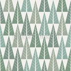 Stilisierter Winterwald Muster Design