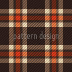 Old Style Tartan Rapportiertes Design
