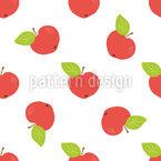 Äpfel Ernten Musterdesign