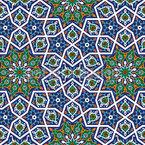 Arabisches Erbe Nahtloses Vektormuster