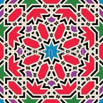 Syro-Arabian Heritage Seamless Vector Pattern Design