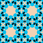 Mikroskopkristalle Designmuster