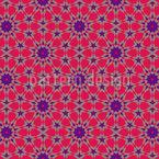 Persische Rosette Nahtloses Vektormuster