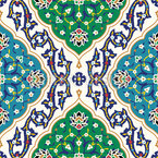 Persian Links Seamless Vector Pattern Design