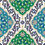 Persische Verbindungen Nahtloses Vektormuster