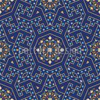 Marokkanische Wendungen Nahtloses Vektormuster
