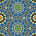 Mosaic Interlinkage Vector Ornament