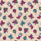 Christmas Toys For Adult Seamless Vector Pattern Design
