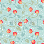 Cold Berries Seamless Vector Pattern Design