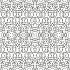 Para delinear algo Design de padrão vetorial sem costura