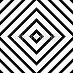 Kontrastierende Geometrie Rapportiertes Design