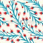 Kleine Blumenzweige Muster Design