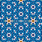 Marokkanischer Himmel Rapportiertes Design