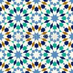 Moroccan Stargazer Seamless Vector Pattern Design