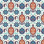 Anatolian Splendor Seamless Vector Pattern Design