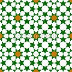 Marokkanischer Sternenhimmel Nahtloses Vektormuster