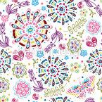 Floral Dreams Vector Ornament