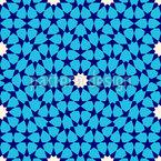 Marokkanischer Nachthimmel Nahtloses Muster