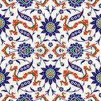Traditional Arabesque Seamless Vector Pattern Design