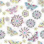 Blumengeträume Nahtloses Vektormuster
