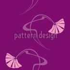 Burlesque Lila Vektor Design
