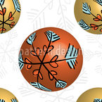 3D Christmas Baubles Repeat