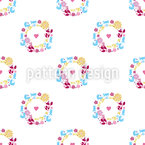 Cute Wreath Pattern Design