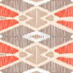Ikat-Geometrie Muster Design