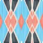 Ikat Formen Designmuster