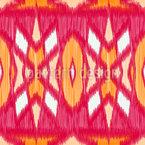 Ikat-Symmetrie Vektor Muster