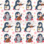 Cute Musical Penguins Design Pattern