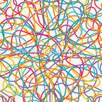 Folge Der Linie Vektor Muster