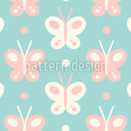 Baby Butterflies Repeat Pattern