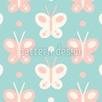 Baby-Schmetterlinge Rapportmuster