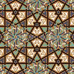 Meeting Rosettes Pattern Design